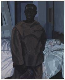 Portrait of Nat Turner with the Head of his Master - Kerry James Marshall