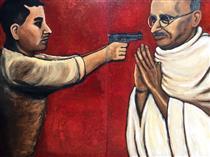 Godse as Judas Vs. Gandhi as Messiah - Wilfredo Argueta Hernandez