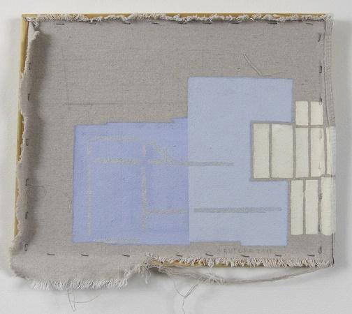 Blue Fences, 2013 - Sharon Butler