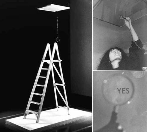 Ceiling Painting, 1966 - Yoko Ono