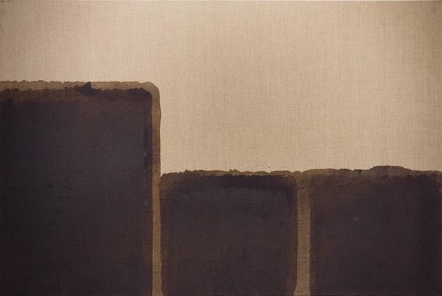 Umber Blue, 1991 - Yun Hyong–keun