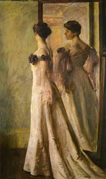 The Heliotrope Gown, 1905 - Joseph DeCamp