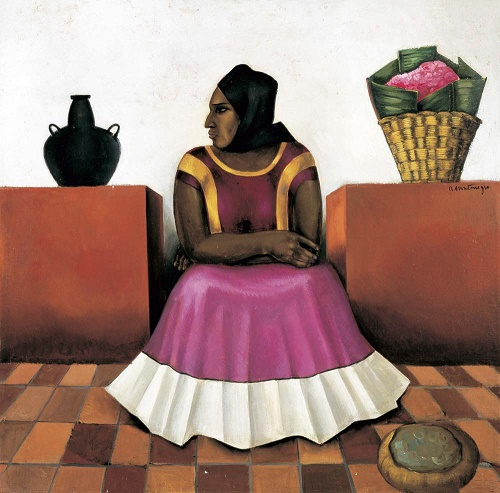 Tehuana, c.1950 - Roberto Montenegro