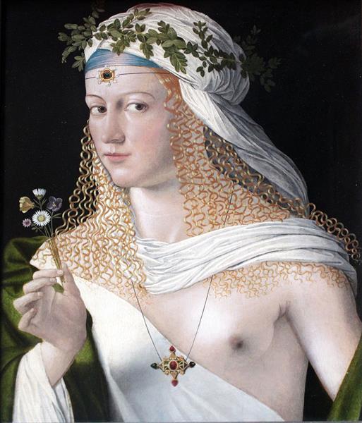 Flora, 1520 - Bartolomeo Veneto