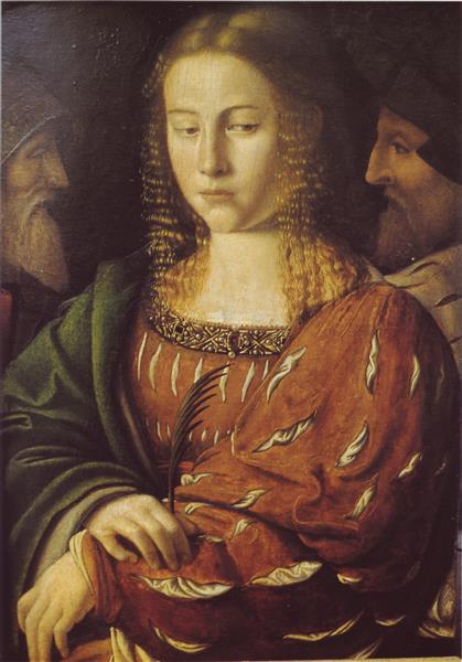 Santa Caterina D´Alessandria - Bartolomeo Veneto