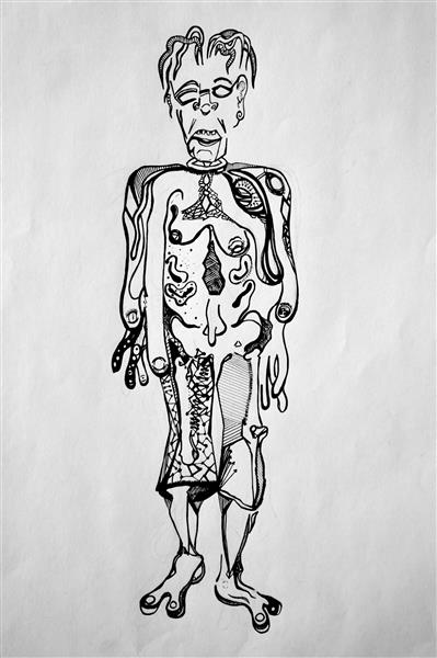 Ink Drawing 1 - Nathan Judds