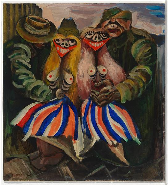 Victory girls, 1943 - Albert Tucker