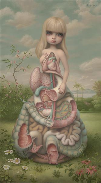 Anatomia (#109), 2014 - Mark Ryden