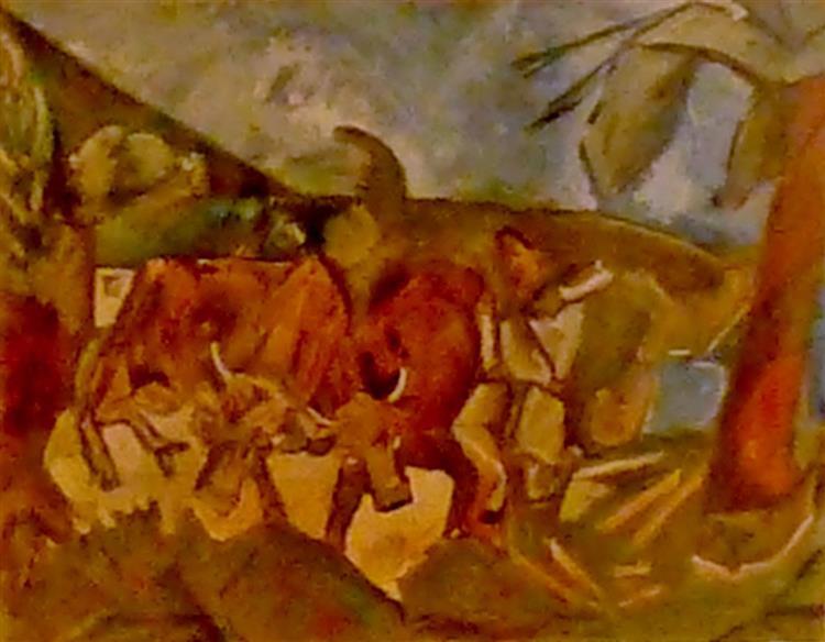 Vaches Dans Un Paysage, 1943 - Max Jacob