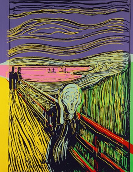 The Scream (after Munch), 1984 - Andy Warhol