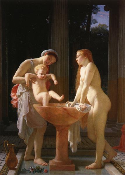 The Bath, 1868 - Charles Gleyre