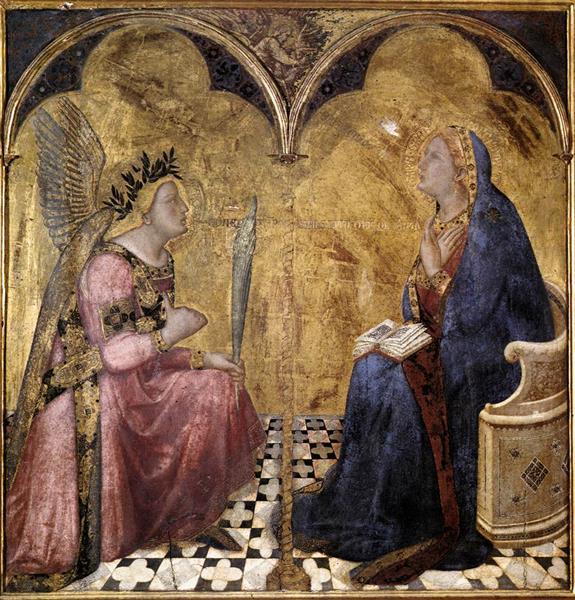 Annunciation - Ambrogio Lorenzetti