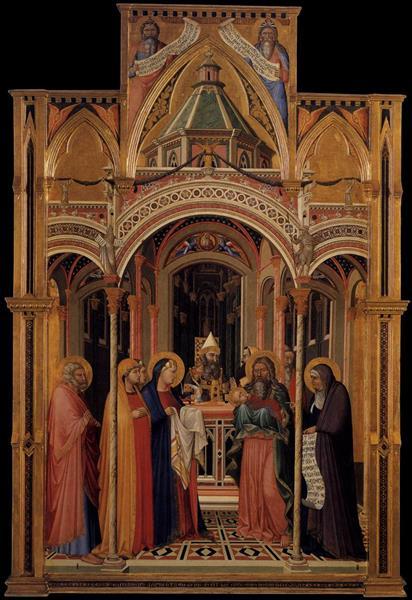The Presentation in the Temple - Ambrogio Lorenzetti