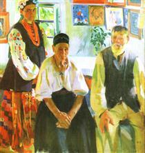 Peasant Family - Oleksandr Muraschko