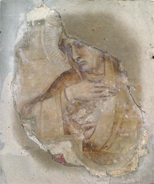 A Female Saint, 1340 - Pietro Lorenzetti