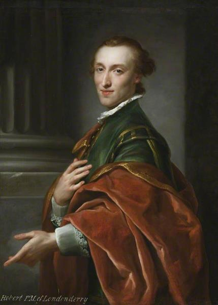 Robert Stewart, Later 1st Marquess of Londonderry, 1758 - Anton Raphael Mengs