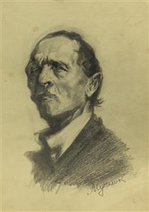 Male Portrait - Мучник Леонід Овсійович