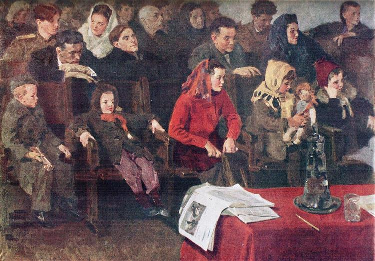 At the Meeting, 1947 - Sergiy Grigoriev