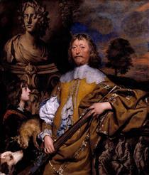 Portrait of Endymion Porter - William Dobson
