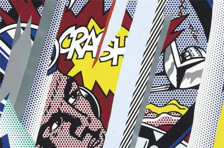Reflections on Crash, 1990 - Roy Lichtenstein