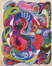 Sketch for Mosaique - Alla Horska