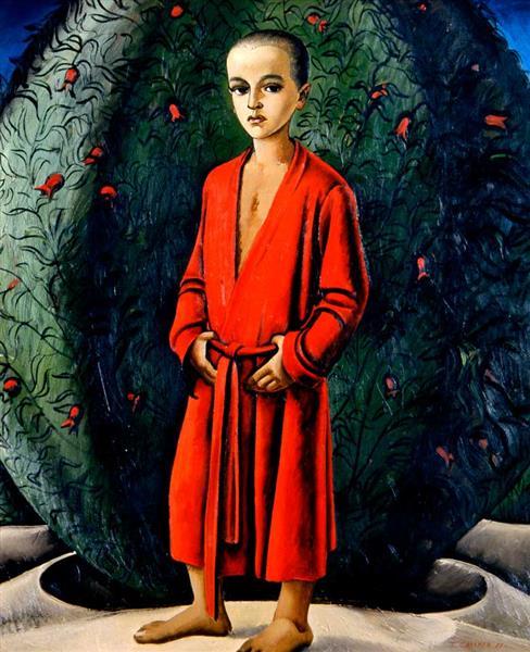 Portrait of Dan, 1983 - Tahir Salahov