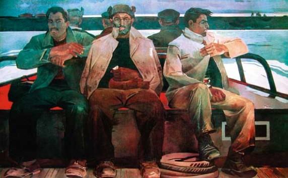 Repairmen, 1960 - Tahir Salahov