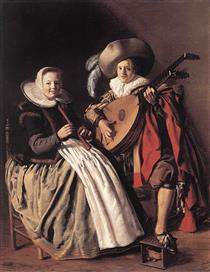 the Duet - Jan Miense Molenaer