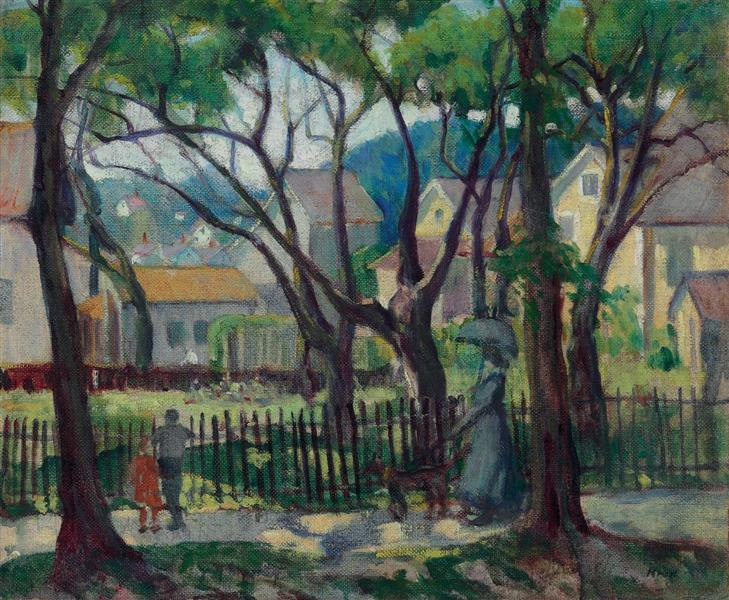 Rondout, 1918 - Leon Kroll