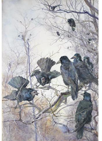 A Murder of Crows - Mildred Anne Butler