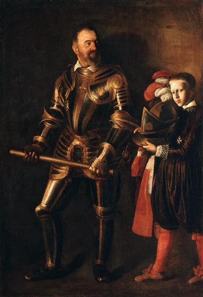 Portrait of Alof de Wignacourt and his Page, c.1608 - Caravaggio