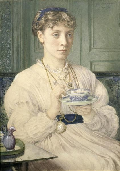 Portrait of Georgiana Burne-jones, 1870 - Edward Poynter