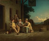 Canvassing for a Vote - George Caleb Bingham