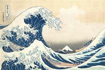 La Grande Onda al largo di Kanagawa - Katsushika Hokusai