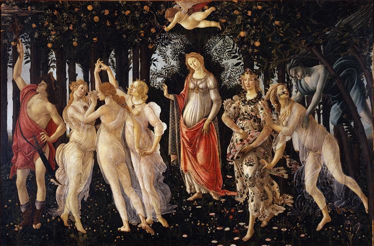 La primavera, 1478 - 1482 - Sandro Botticelli