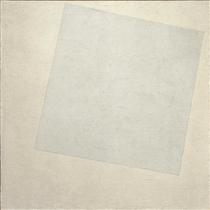 Weiß auf Weiß - Kasimir Sewerinowitsch Malewitsch