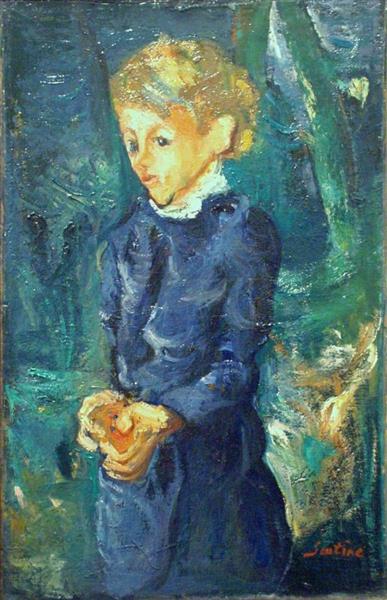 Girl in Blue, 1938 - 1939 - Chaïm Soutine