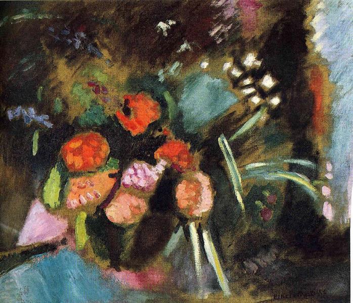 Flowers, 1906 - Henri Matisse - WikiArt.org