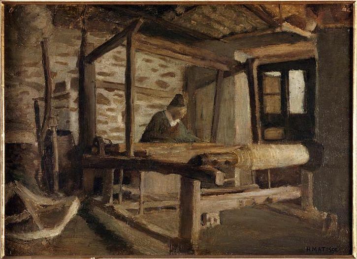 The Breton Weaver - Henri Matisse