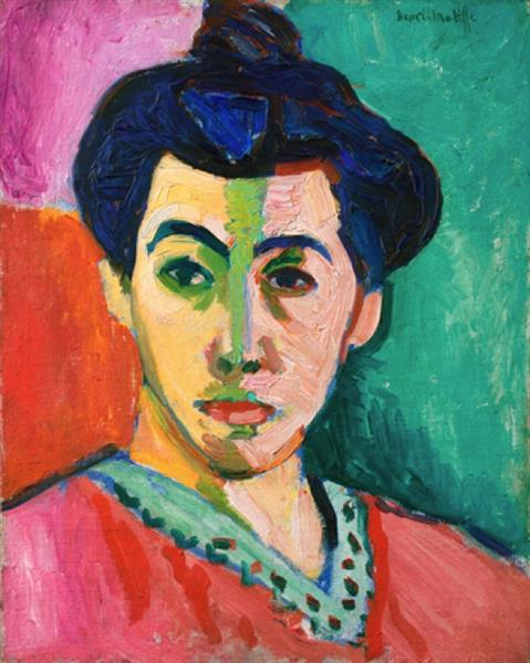 The Green Line, 1905 - Henri Matisse