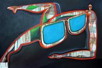 La femme aux lunettes - Eric Massholder