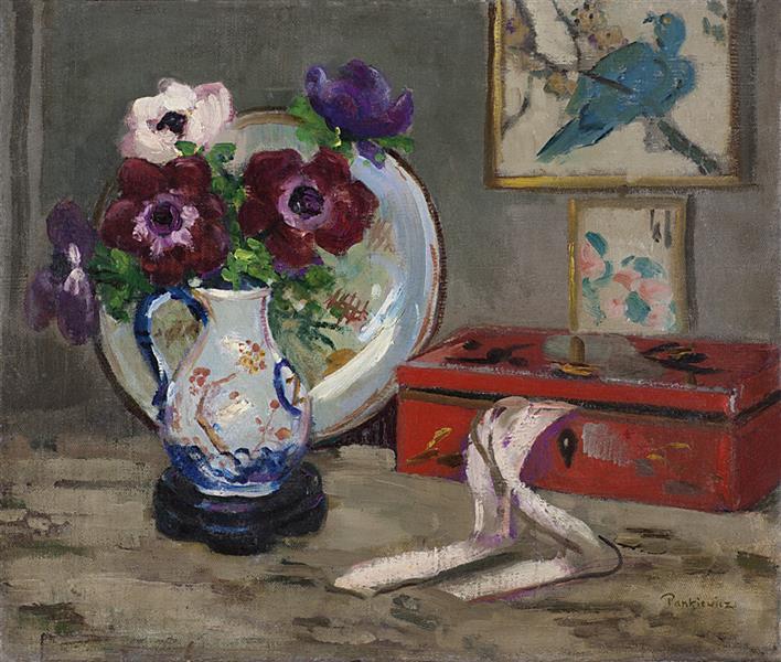 Still Life with a Box, 1908 - Józef Pankiewicz