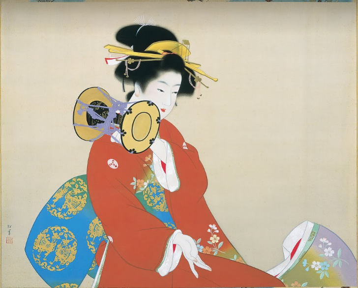 Sound of Tsuzumi, 1940 - Uemura Shoen