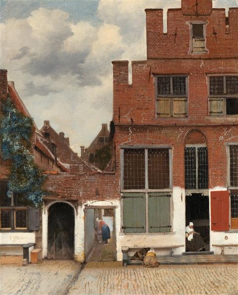 The Little Street, c.1658 - c.1660 - Johannes Vermeer