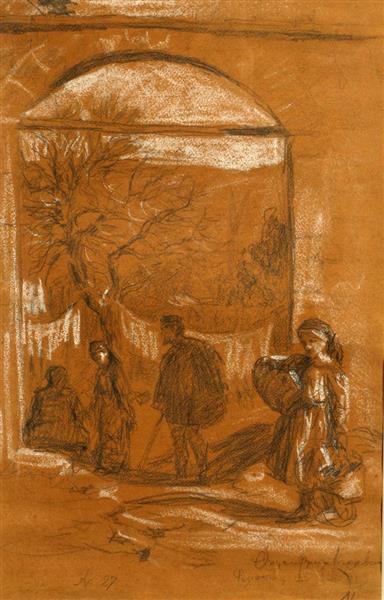 Camping to Emmin Aga, 1913 - Thalia Flora-Karavia