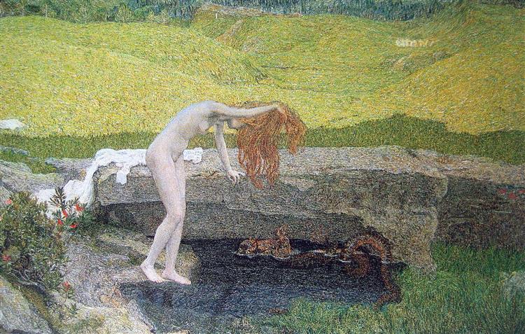 Vanity, 1897 - Giovanni Segantini