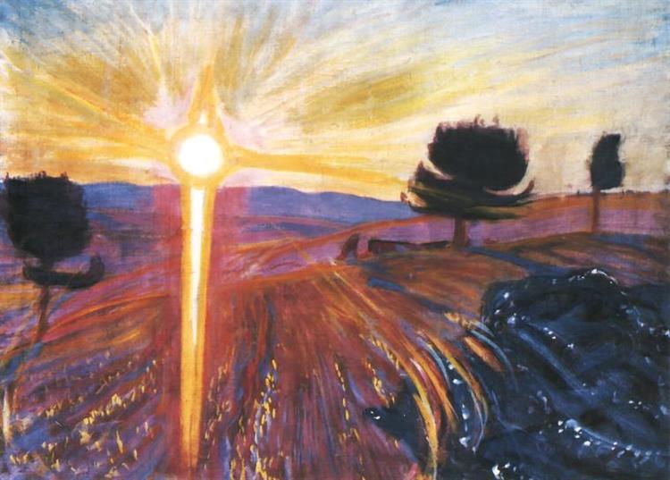 Radiant Sunset, 1902 - Wojciech Weiss