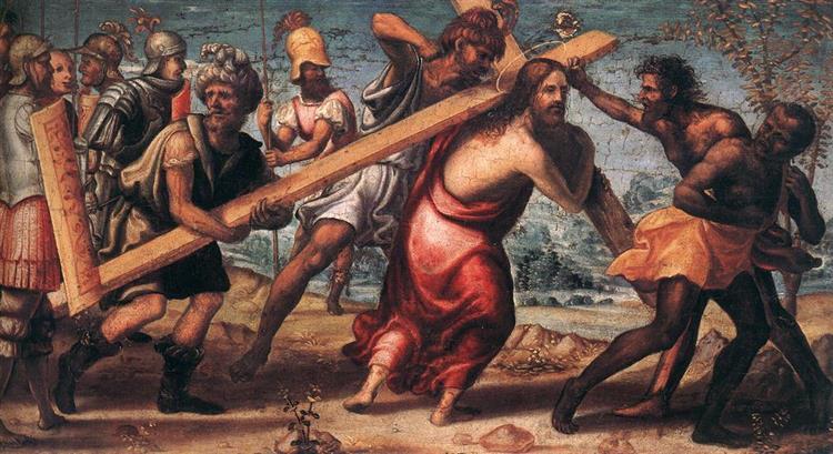 The Road to Calvary, 1510 - Giovanni Antonio Bazzi