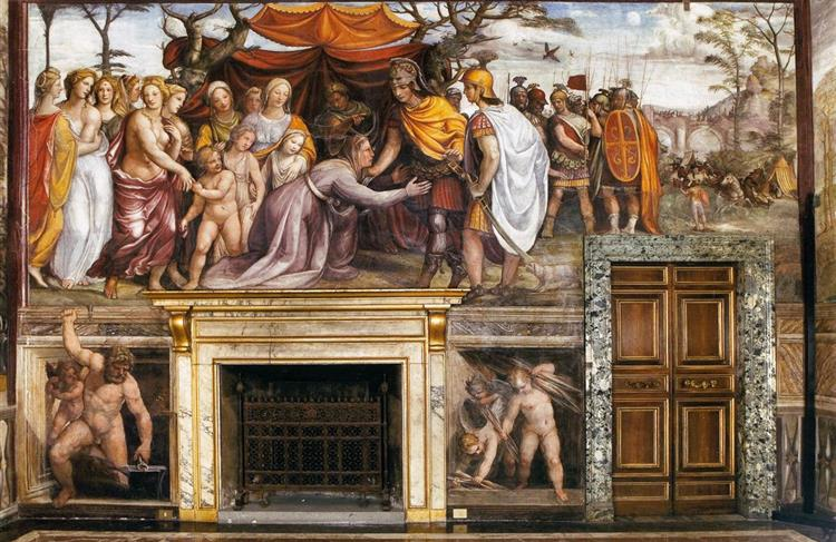 The Women of Darius's Family Before Alexander the Great, 1517 - Il Sodoma
