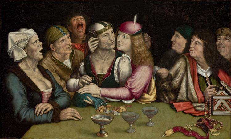 Ill-Matched Marriage (The Marriage Contract), c.1525 - c.1530 - Quentin Matsys